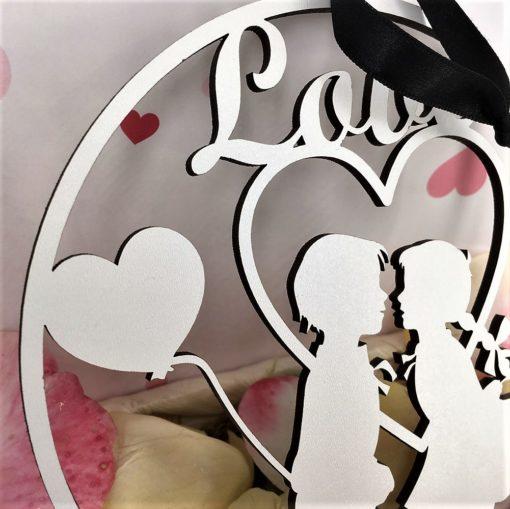 décoration murale les amoureux