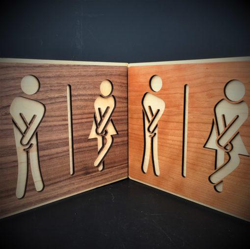 plaque de portes bois l'envie pressante vue d'ensemble
