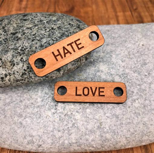 chouzies bois cerisier hate-love rectangle