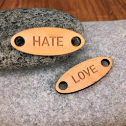 chouzies bois érable hate-love ovale