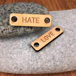 chouzies bois érable hate-love rectangle