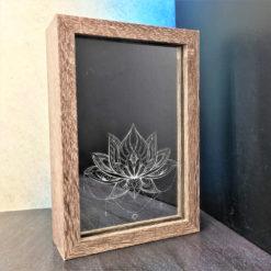 box led lotus