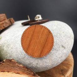 Le pin's bois personnalisable cerisier