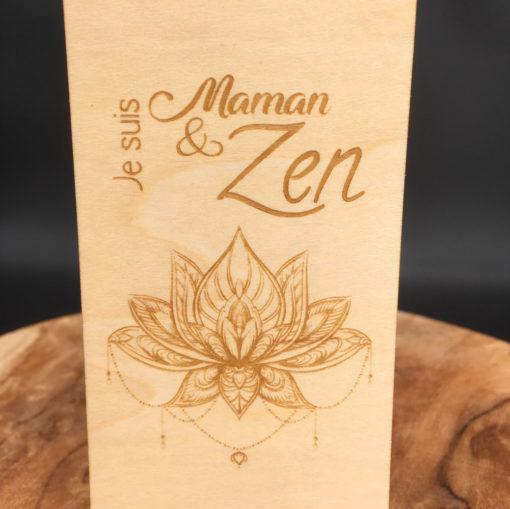 Marque-page Maman&Zen zoom