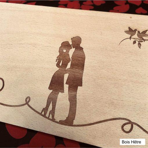 carte postale bois hêtre