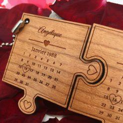 porte clés le st valentin cerisier