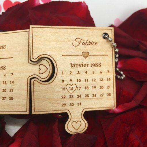 porte clés le st valentin érable