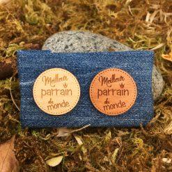 pins bois meilleure parrain ensemble