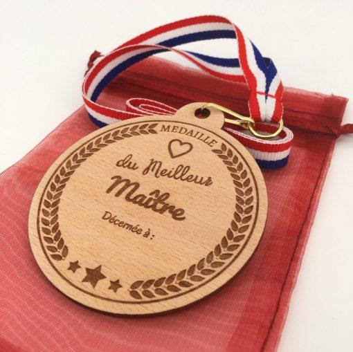 médaille bois meilleur maître hêtre
