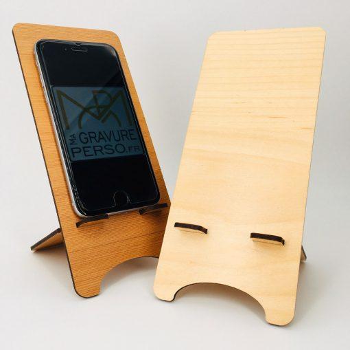 support téléphone personnalisable ensemble