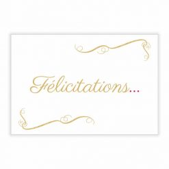carte message félicitations