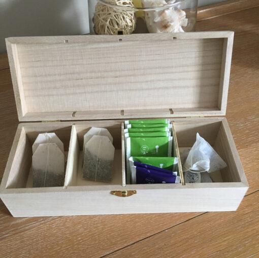 boîte à thé intérieur boîte