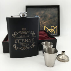 coffret flasque personnalisable