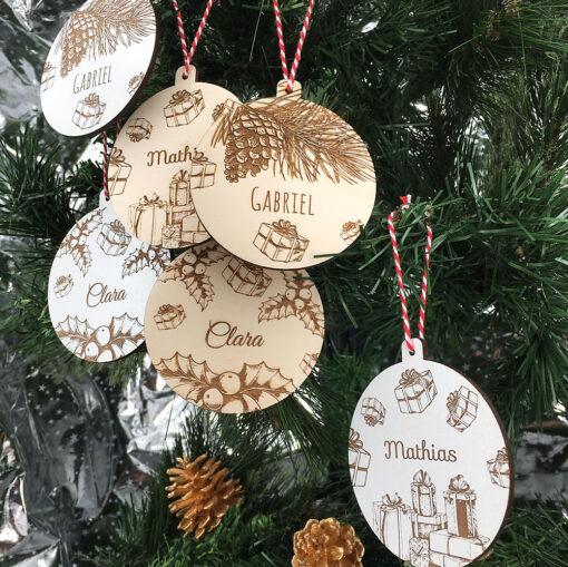 décoration de noël cadeaux ensemble