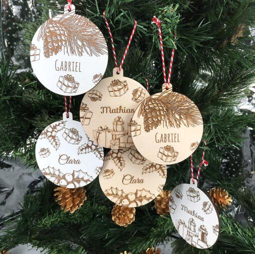 décoration de noël cadeaux ensemble 2