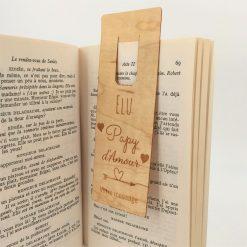 marque-page papy d'amour dans un livre