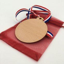 médaille bois 100% personnalisable hêtre