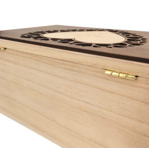 coffret bijoux bois personnalisable charnières