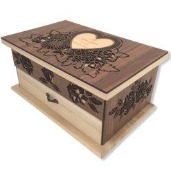 coffret bijoux bois personnalisable entier